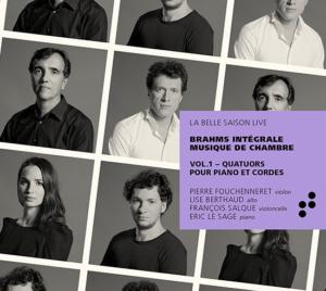 Intégrale Brahms Vol.1 B Records