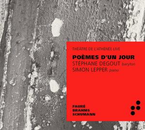 CD Poème d'un jour Athénée Live B Records