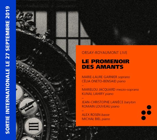 Disque Promenoir des amants Orsay-Royaumont Live B Records
