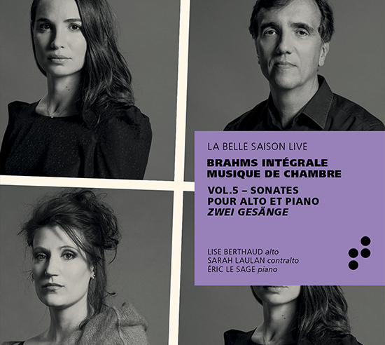 Intégrale Brahms vol 5 B Records