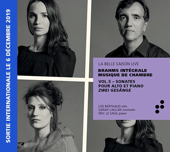 Intégrale Brahms Volume 5 B Records