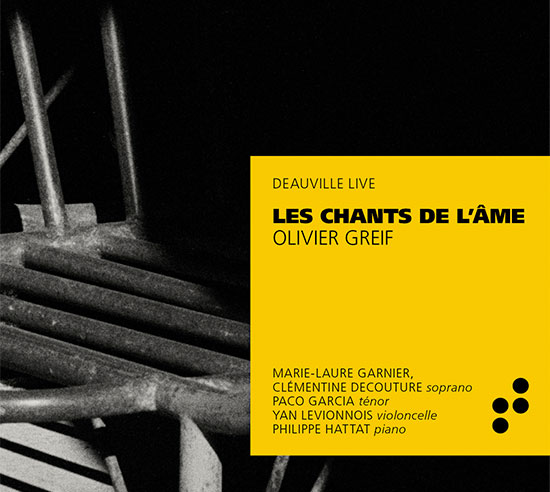 CD Les chants de l'âme - Olivier Greif - B Records