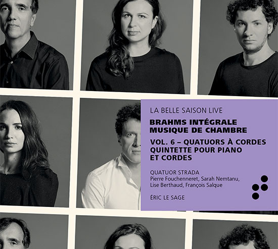 Intégrale Brahms vol 6 B Records