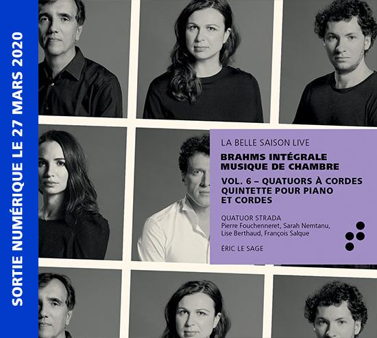 Intégrale Brahms Volume 6 B Records