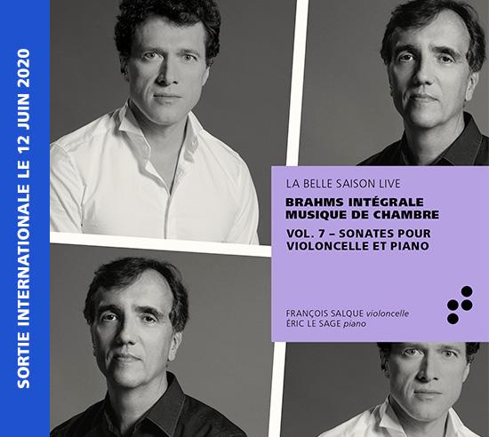 Intégrale Brahms Volume 7 B Records